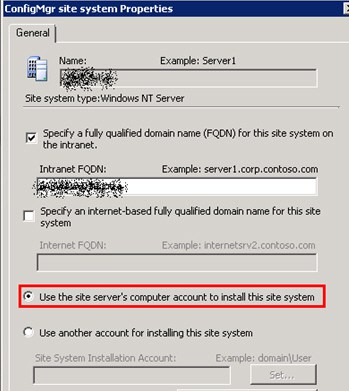 FIX SCCM Packages are not Getting Updated on New Site System Domain Controller 1