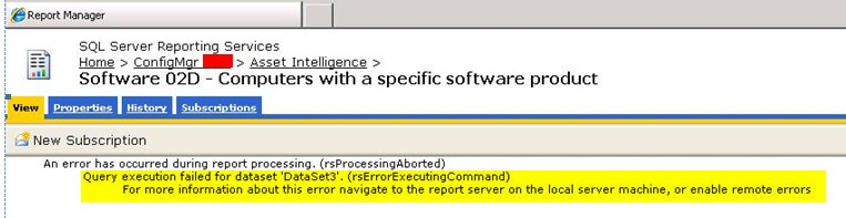 How to Fix Resolve SCCM SSRS Timeout Expired Error ConfigMgr,