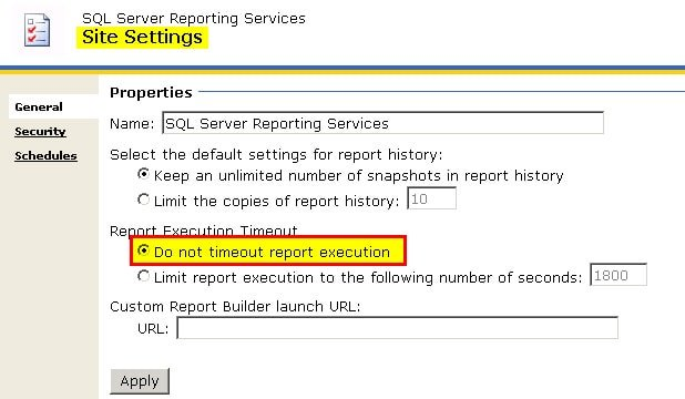 How to Fix Resolve SCCM SSRS Timeout Expired Error ConfigMgr