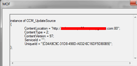 ConfigMgr SCCM Software Updates Patching WMI Troubleshooting Tips