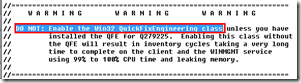 SCCM How to find the list of patches installed Via Quick Fix Engineering