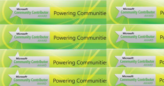 Community Contributor Award