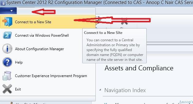 SCCM ConfigMgr Console