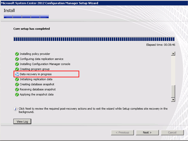 device setup manager