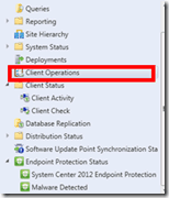 How to Monitor SCCM ConfigMgr Client Operations from Admin console