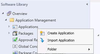 ConfigMgr SCCM How to Import Pre Configured Applications ConfigMgr 1
