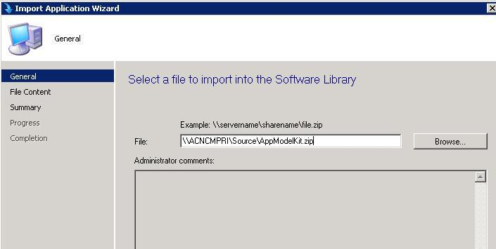 ConfigMgr SCCM 2012 How to Import Pre Configured Applications 3