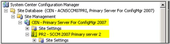 How to Change SCCM Parent Site of SCCM Primary Server Simplify Hierarchy Part 2 ConfigMgr