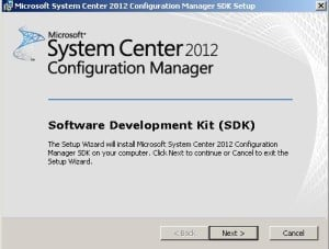 ConfigMgr SCCM 2012 SDK SP1 is Available for Download 1