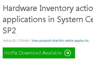ConfigMgr SCCM 2007 SP2 Hardware Inventory is Not Working for AppV Applications 1