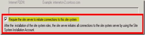 SCCM Untrusted Forest Issues Require the Site server to Initiate Connection