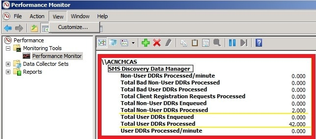 ConfigMgr SCCM How to Find Out DDRs Processing Rate