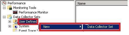 DATA Collector Set1 ConfigMgr Performance Counter Template | SCCM