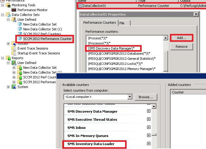 Edit Performance Counter - ConfigMgr Performance Counter Template | SCCM