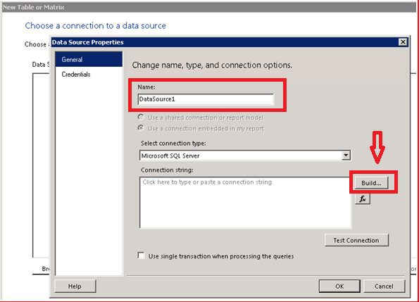 Create a New Data Source using New Connection settings
