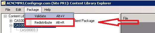 ContentLibraryExplorer Redtribute INVALID Package