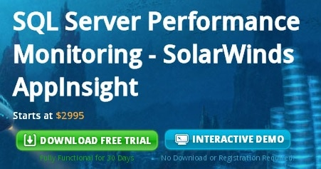 SQL Server Performance Monitoring using AppInsight