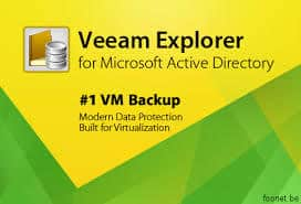 Recover AD User Password using Veeam Explorer for Active