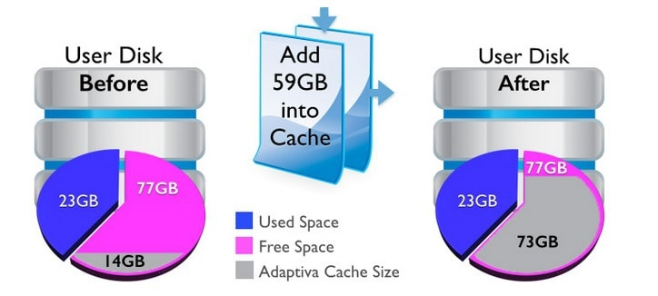 Adaptiva Onesite Zero Footprint Cache