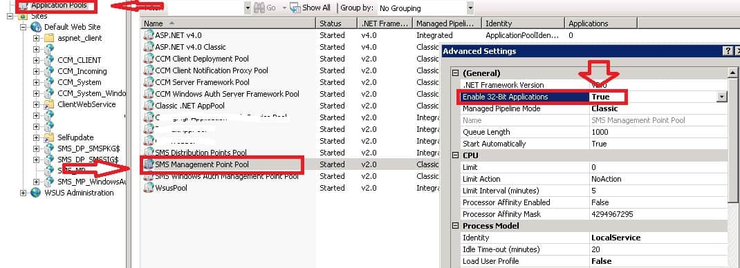 SMS MP - FIX SCCM Management Point Issues