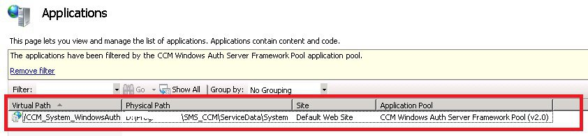 MP Issue error 500-4 FIX SCCM Management Point Issues
