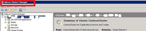 Cluster Manager