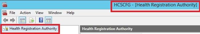 Health Registration Authority1