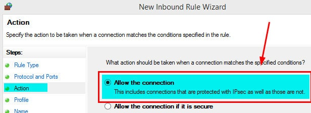 Windows Firewall Rule 19