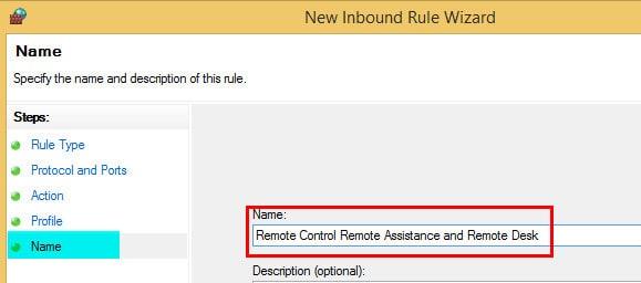 Windows Firewall Rule 21