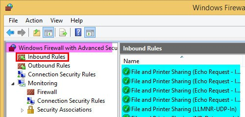 How to Create Windows Firewall Inbound Rules for SCCM ConfigMgr 2012 Client 7