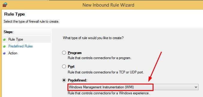 Windows Firewall Rule 3