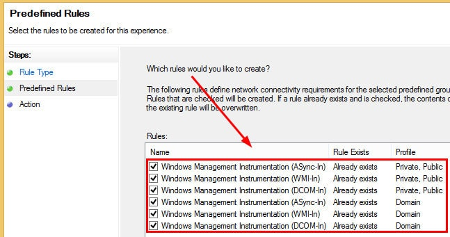 Windows Firewall Rule 4