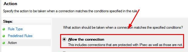 Windows Firewall Rule 8