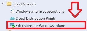 Extension for Windows Intune