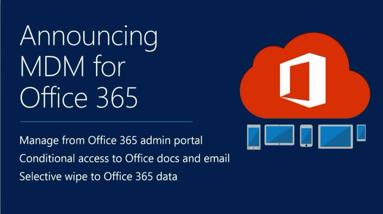 What is Intune for Office365 O365 1