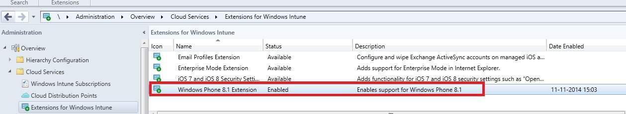 Windows Phone 8.1 Extension