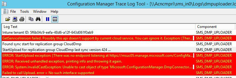XAP Applications are not getting published in Windows Phone 8.1 via Intune Integrated SCCM 2012 R2