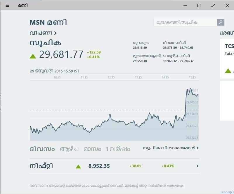Windows 10 Malayalam - Regional-Language1