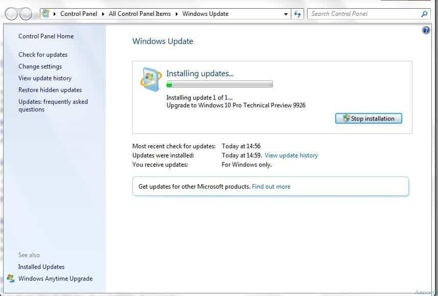 Windows 7 to 10 Upgrade - 3