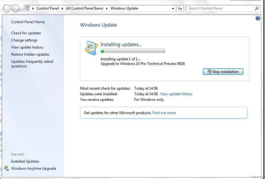 Windows 7 to 10 Upgrade - 3