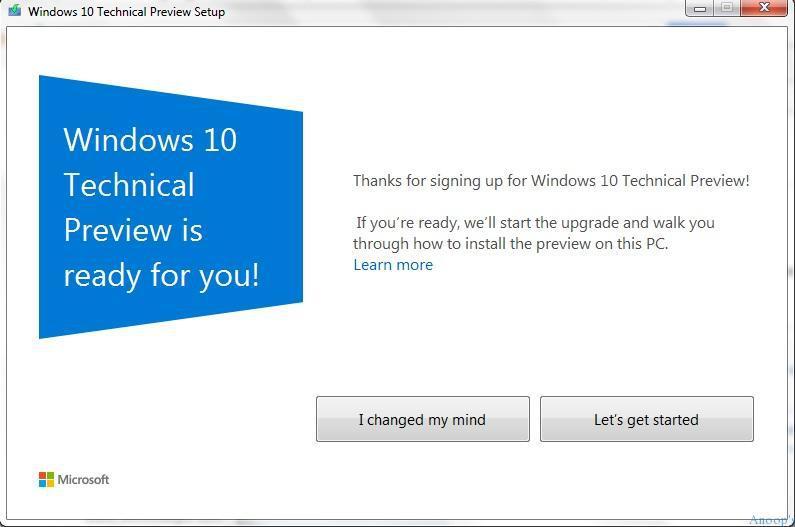 Windows 7 to 10 Upgrade - 4