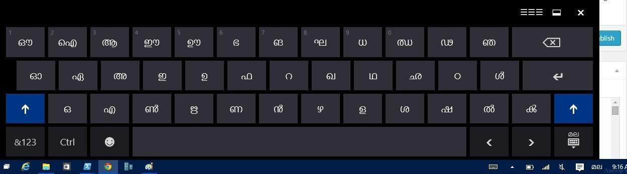 how to use english keyboard for telugu typing