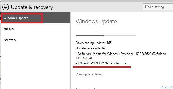 Windows10-Windows-Update-2 Changes of Windows Updates Icon WindowsUpdate Log in Windows 10