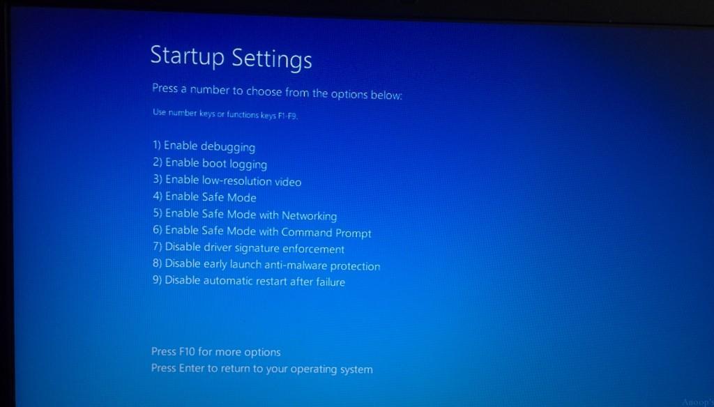 windows-10-Safe-Mode-5 Fix Driver Issues Start Safe Mode on Windows 10 Device | How to Start Windows 10 in Safe Mode?
