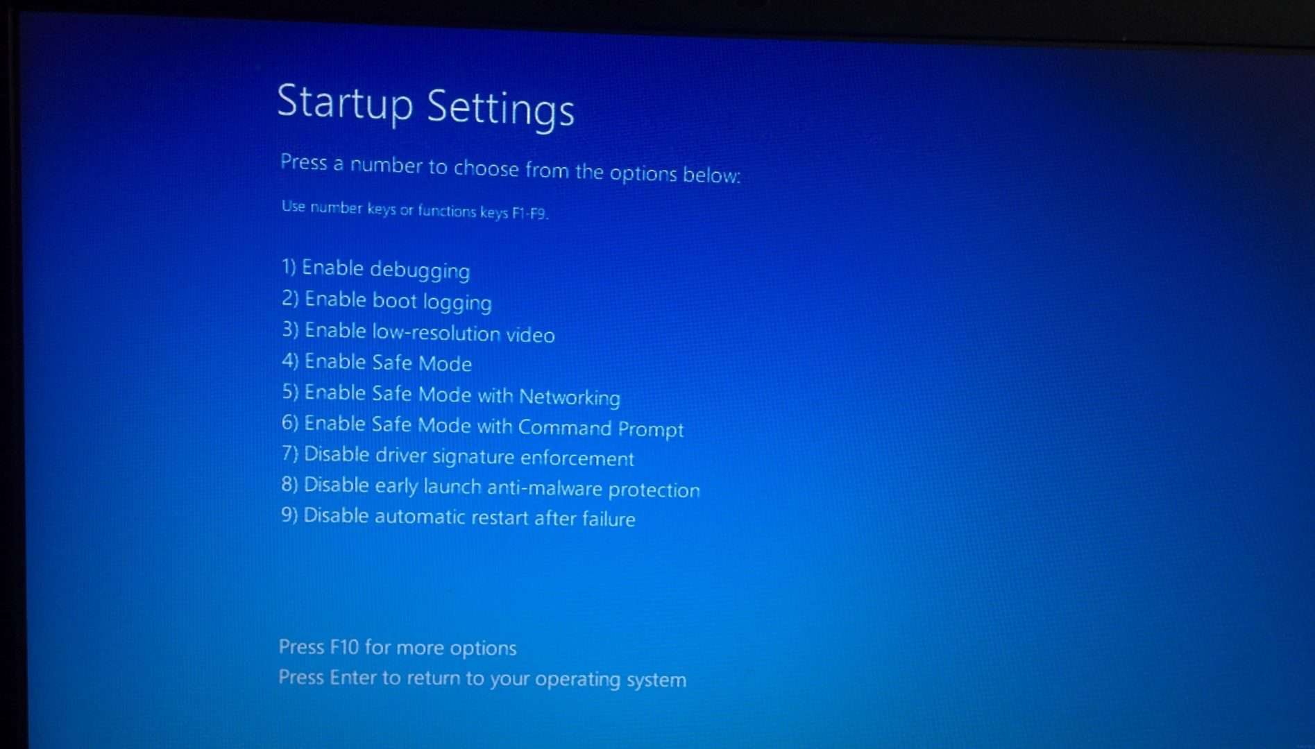 Driver Issues How to Start Safe Mode on Windows 10 Machine 1