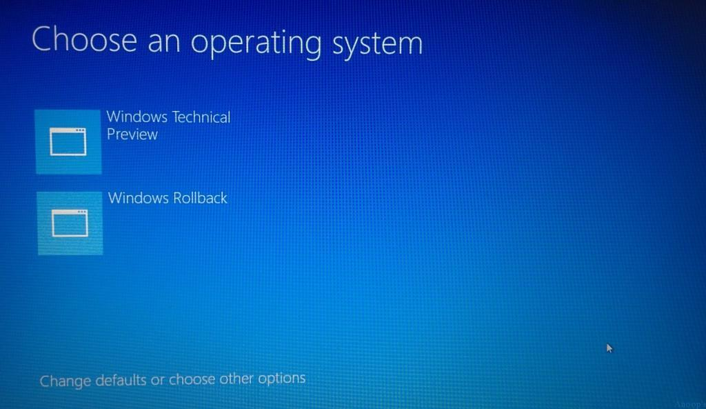 Windows-Rollback-1 Fix Driver Issues Start Safe Mode on Windows 10 Device | How to Start Windows 10 in Safe Mode?