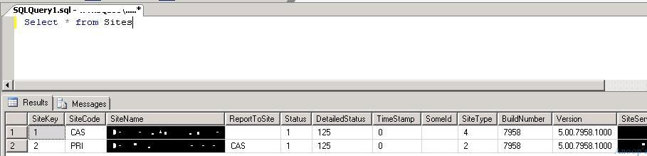 How to Find SCCM Server Components Data Site Status Details from SQL DB Configuration Manager