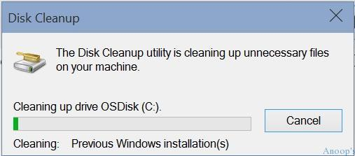 How to Clean Remove Previous Windows 10 Installations