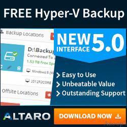 Download Free Hyper-V Backup for Virtual Machines