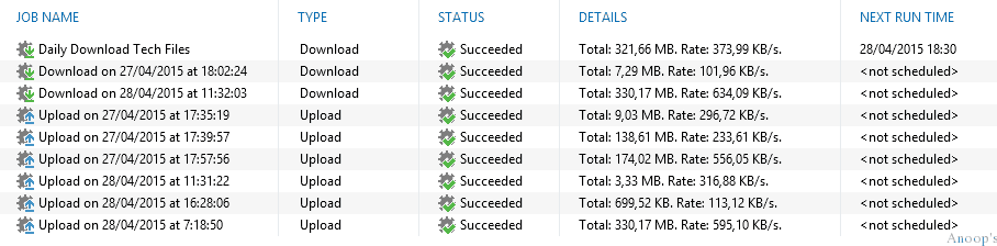 Application to Get Files Copied Between Azure On-Premises without a VPN Connection